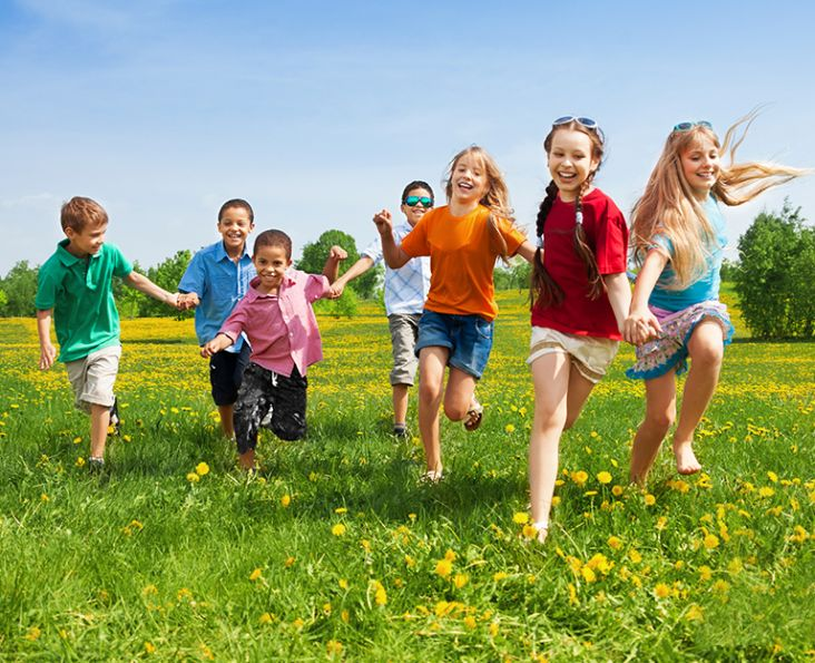 Children learn a new language naturally in an exciting environment with memorable experiences